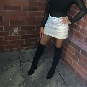 Prettylittlething Over the knee Boots